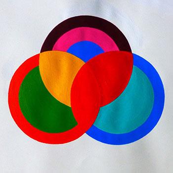 Venn Acrylic on Paper