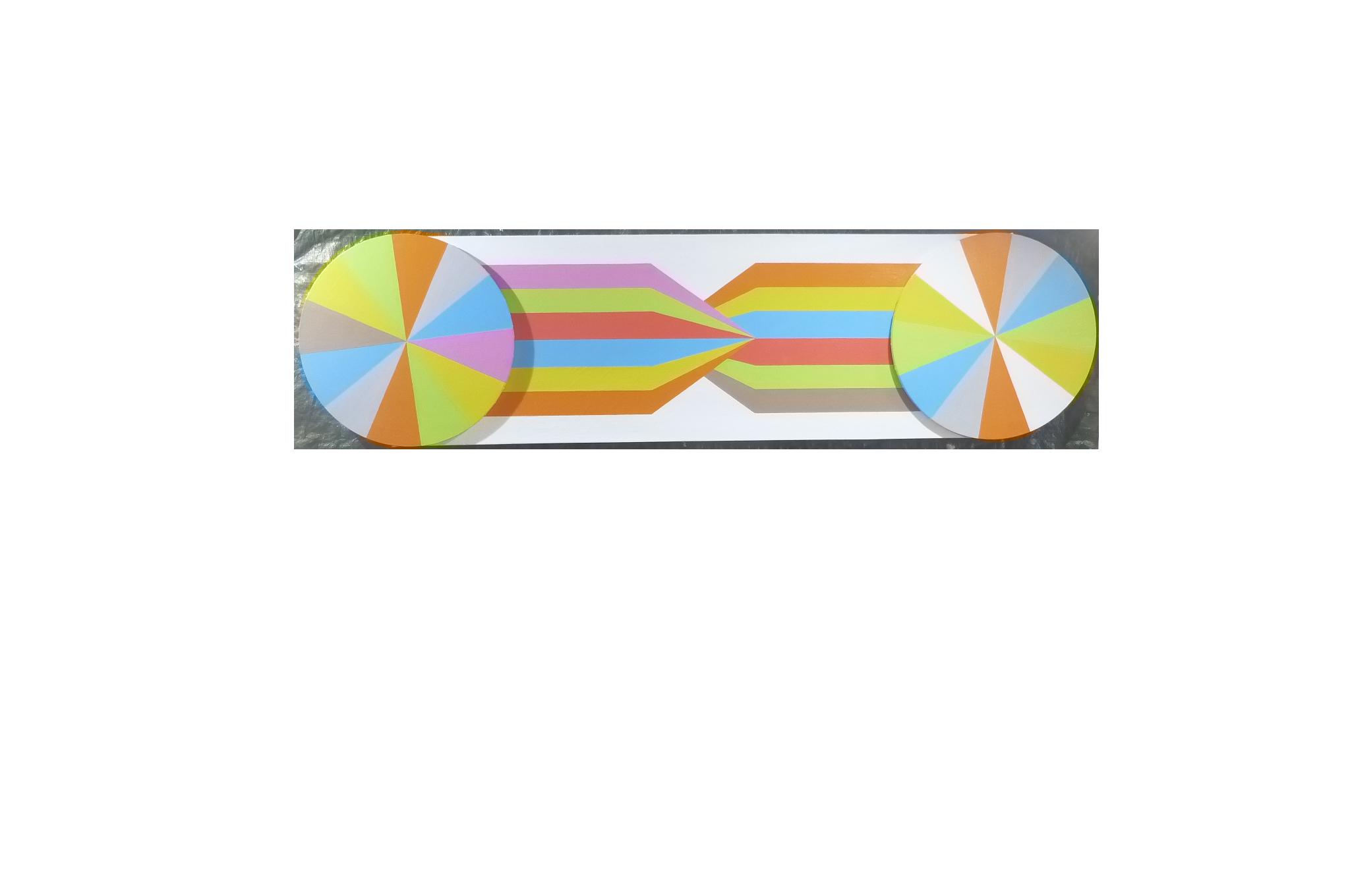 Long double header colour wheel spikey